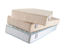Three mattresses Royalty Free Stock Photos