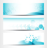 Medical Banners. Three Medical Banners For Web Or Print Royalty Free Stock Photography