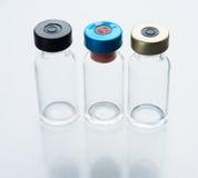 Three medical vials Stock Images