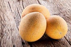 Three Melons Stock Photo