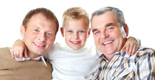 Three men Stock Photo