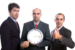 Three men Royalty Free Stock Image