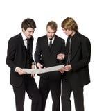 Three men Royalty Free Stock Photography