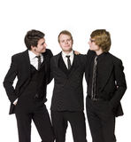 Three men Royalty Free Stock Images