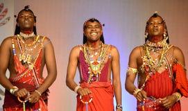 Three Men From Kenya Royalty Free Stock Photo