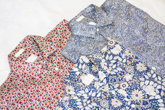 Three  men`s shirt Stock Image