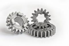 Three metal gears Royalty Free Stock Photo