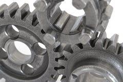 Three metal gears Royalty Free Stock Image