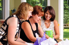 Three Middle Age Women stock photography