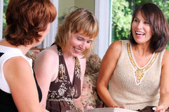 Three Middle Age Women Royalty Free Stock Photography