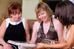 Three Middle Age Women Stock Photos