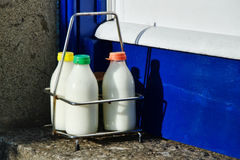 Three Milks Today Royalty Free Stock Images