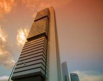 Three modern buildings Stock Image