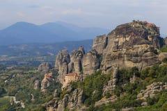 Three monasteries of Meteora Stock Photography