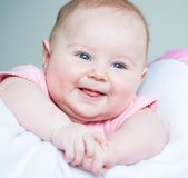 Three month old baby Royalty Free Stock Photography