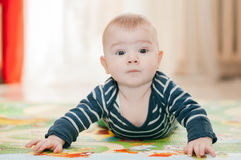 Three-months kid Royalty Free Stock Photo