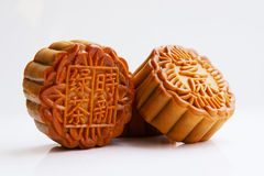 Three moon cakes Royalty Free Stock Photography