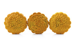 Three mooncakes Stock Image