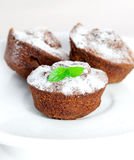 Three muffin Royalty Free Stock Photos