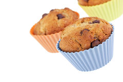 Three muffins Royalty Free Stock Image
