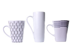 Three mugs Royalty Free Stock Photo