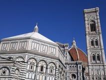 Fireze, Duomo, Battistero, Campanile di Giotto royalty free stock images