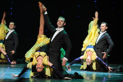 The Three Musketeers-The French Cancan-the Austria's world Dance Stock Photo