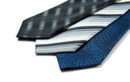 Three neckties Stock Photos