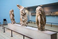 Three Nereids in British Museum, London Royalty Free Stock Photography