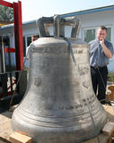 Three new bells for Pope Benedict Royalty Free Stock Image