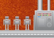 Free Three New Robots Royalty Free Stock Photo - 19769765