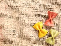 Three noodles Royalty Free Stock Photos