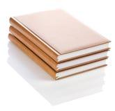 Three notebooks Stock Image