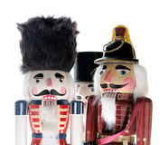 Three nutcrackers Royalty Free Stock Image