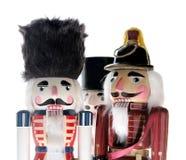Three nutcrackers royalty free stock image