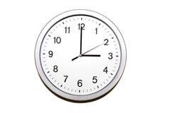 Three o'clock Royalty Free Stock Image