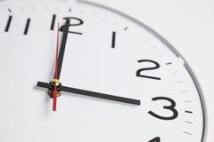 Three o'clock Stock Image