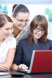 Three in office Stock Photography