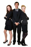 Three office workers Stock Photography