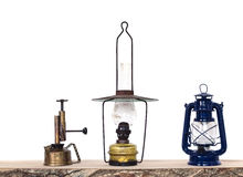 Three Oil Lamps Royalty Free Stock Photo