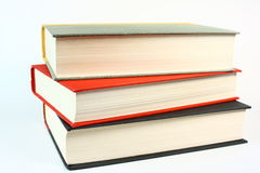 Three Old Books Royalty Free Stock Photos