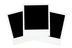 Three Old-fashioned Photo Frames Stock Photo