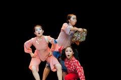 The three old lady--Folk Dance Royalty Free Stock Photo