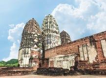 Three old Pagoda Royalty Free Stock Images