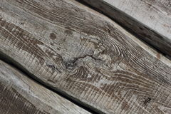 Three old textured boards lying diagonally background Stock Photo
