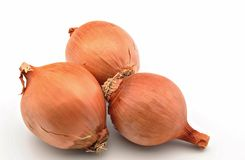 Three onions Royalty Free Stock Photography