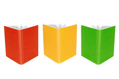 Three open book Royalty Free Stock Photography