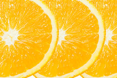 Three of Orange Slice Royalty Free Stock Photography