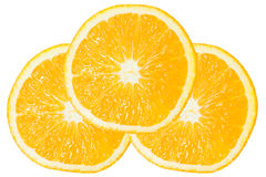 Three of Orange Slice Royalty Free Stock Photo