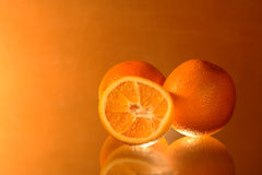 Three Oranges Royalty Free Stock Images
